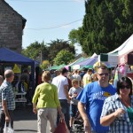 Street fair stalls